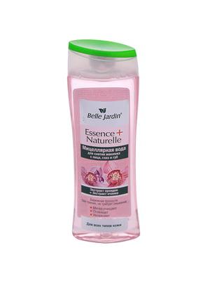 Вода мицеллярная для снятия макияжа с лица глаз и губ «Экстракт орхидеи, экстракт очанки» (250 мл)   4346780
