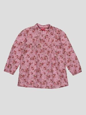 Блуза в цветочный принт | 4302407