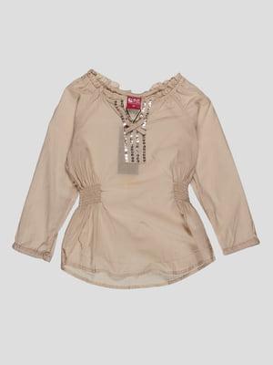 Блуза бежева | 4314053