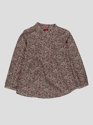 Блуза в квітковий принт | 4313454