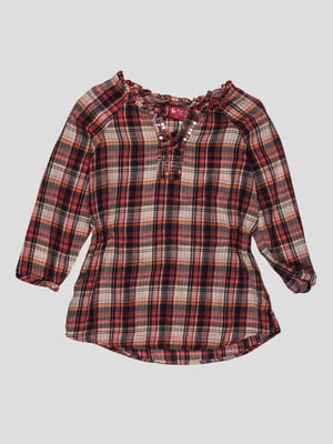 Блуза в клітинку   4313942