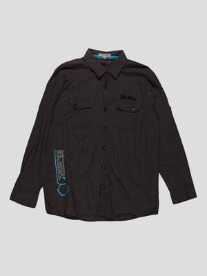 Рубашка серая | 4314158