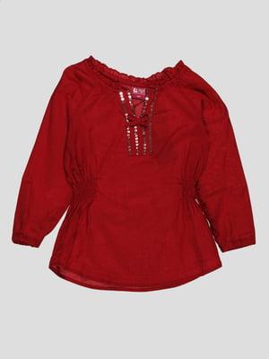 Блуза червона   4313429