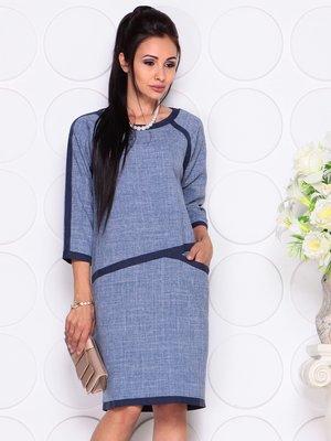 Платье цвета джинс | 4347065