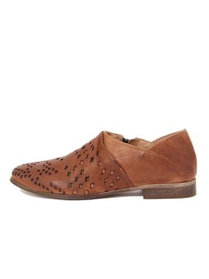 Туфлі коньячного кольору | 4222608
