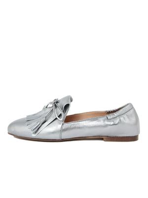 Балетки сріблясті | 4222612