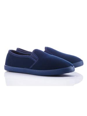 Слипоны синие   4348403