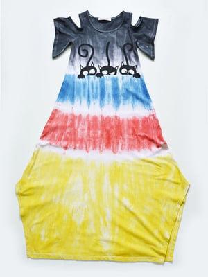 Сукня різнобарвна   4342416