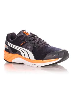 Кроссовки черно-оранжевые | 4347548