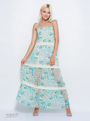 Сукня бірюзова | 4352366