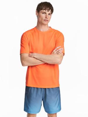 Футболка помаранчева   4343263