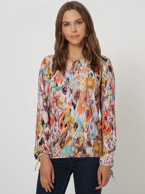Блуза різнобарвна | 4355536