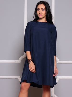 Платье темно-синее | 4352763