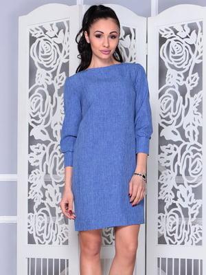 Платье синее | 4352774