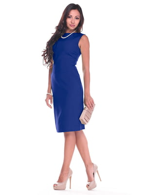 Платье цвета электрик | 4352795