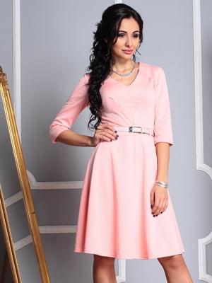 Платье персиковое | 4352814