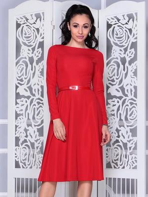 Платье красное | 4352818