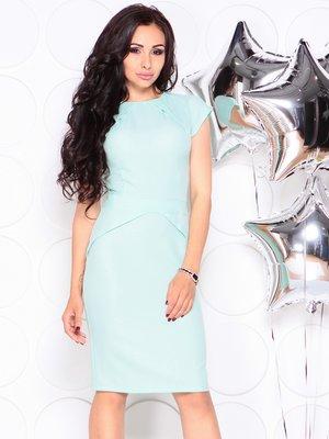 Сукня світло-ментолового кольору | 4353935