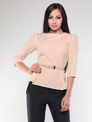 Блуза бежевая | 4355001