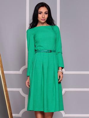 Платье зеленое | 4355054