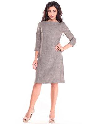 Сукня кольору бежевий хакі | 4355097