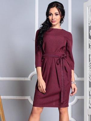 Платье темно-сливовое | 4355228