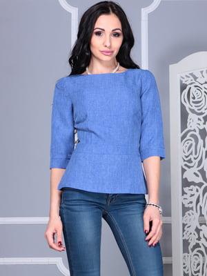 Блуза синя | 4355270