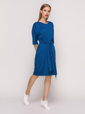 Платье темно-бирюзовое | 4352040