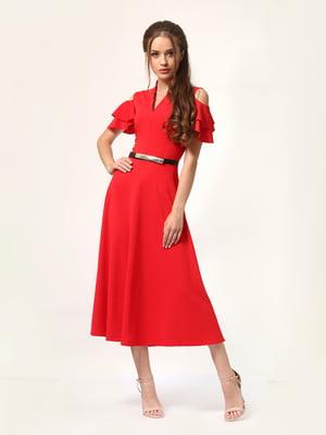 Платье красное | 4363447