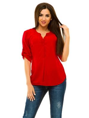 Блуза червона | 3228909