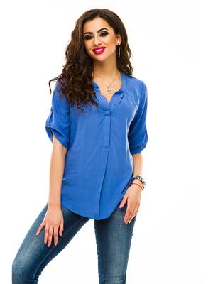 Блуза светло-синяя | 3268596