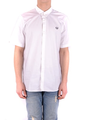 Рубашка белая - Fred Perry - 4362767