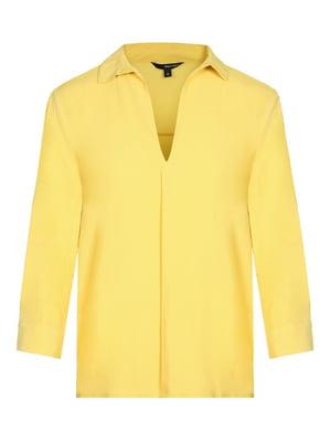 Блуза желтая | 4365831