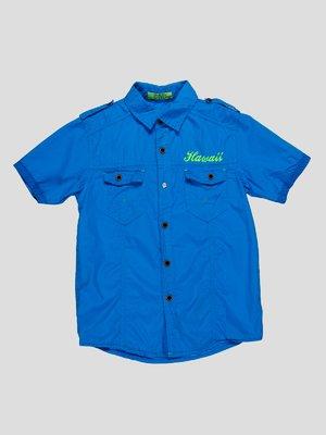 Рубашка голубая | 4349912