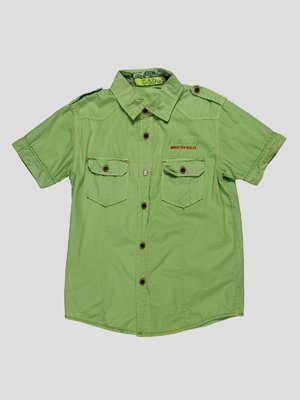 Рубашка оливкового цвета | 4349918
