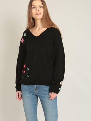 Пуловер черный | 4117287