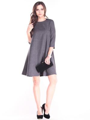 Платье графитовое | 3241181