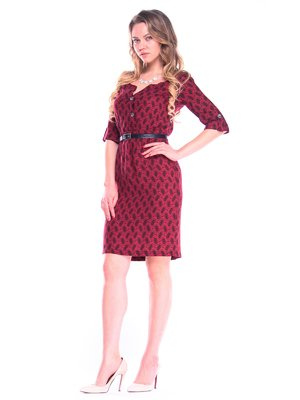 Платье в принт | 4355390