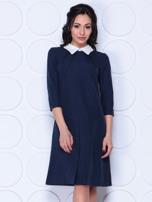 Платье темно-синее | 4364576
