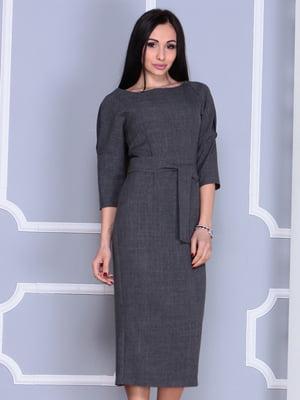 Платье графитового цвета | 4364589