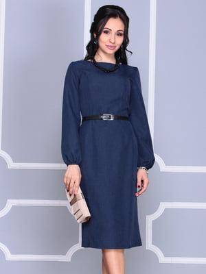 Платье темно-синее | 4364596