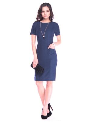 Платье темно-синее | 4364605