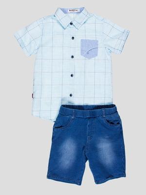 Комплект: рубашка и шорты | 4349741