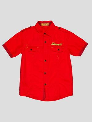 Рубашка красная | 4349921
