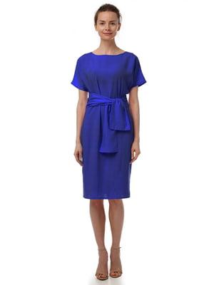 Платье цвета электрик | 4367613