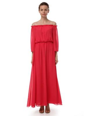 Платье коралловое | 4367623