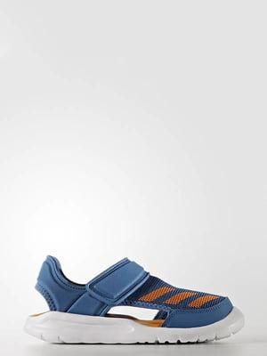 Сандалии синие | 4306886
