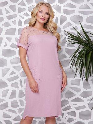 Платье пудрового цвета | 4367739