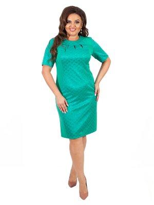 Платье бирюзовое | 4366303