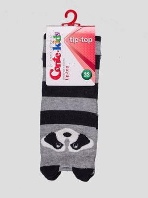 Шкарпетки в смужку з малюнком | 4366714